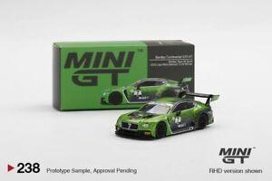 1:64 2020 Bathurst 12 Hour Winner -- #7 Bentley Continental GT3 -- Mini GT