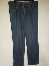 Tommy Bahama Mens Classic Fit Dark Denim Jeans (35 x 30)