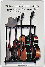 """8""""x12"""" Sign Blue Grass, Country, Western, Blues, Music Sign, Guitar, Nashville"""