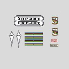 Frejus Nero/argento decalcomanie bicicletta -transfers-stickers N.7