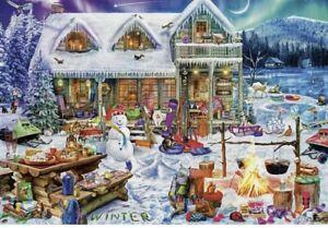 Buffalo Games Aimee Stewart 2000pc Jigsaw Puzzle Winterland Fun