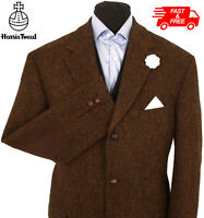Harris Tweed Jacket Blazer Size 48S Country Weave Hacking Hunting GREAT COLOUR
