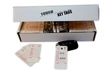 Poly Key Tags | Tough Poly Rigidene Style | 500 Tags, Permanent Markers, Rings