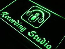 i801-g Recording Studio Microphone Bar Neon Light Sign