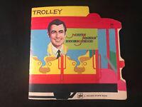 Mister Rogers' Neighborhood Trolley A Golden Shape Book 1974