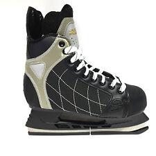 Roces RH 3  Eishockey Schlittschuhe - Senior Freizeit schwarz Iceskate Gr. 44