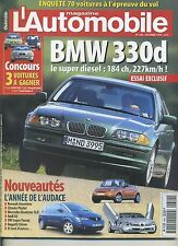 L'AUTOMOBILE MAGAZINE n°640 10/1999 BENTLEY CONTINENTAL BMW 330d SAAB 9-3 2.0