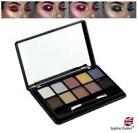 10 Colour Shades MAGICAL WINKING EYE Shadow Make Up Set Sparkle Eyeshadow Mirror