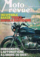 Moto Revue   N°2326   Juil 1977 : tierce honda a barcelone