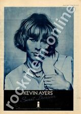 Kevin Ayers Sweet Deceiver ILPS 9322 MM5 LP Advert 1975