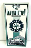 Seattle Mariners 1993 Information Guide Paperback Baseball  4A