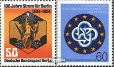 Berlijn (West) 720,721 (compleet.Uitgaven) postfris 1984 Speciale postzegels