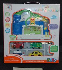 "Toddler Toy ""Traffic Learning Machine"" Music & Sounds, 5 Vehicles,Pre-School NEW"