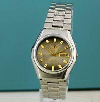 Best🔥 Original 3 star japanese ORIENT AUTOMATIC watch 21 jewels vintage japan
