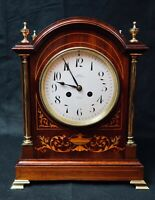 French Edwardian Mantel Clock - By Japy Freres Examined By Dent Of London