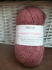 sirdar harrap tweed double knit wool/nylon sh 0116 holmfirth 4mm 50 gms
