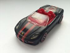 Hot Wheels Ferrari 430 Spider Cabrio 2007 schwarz-Matt