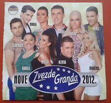 CD Zvezde Granda 2012 Nove Digipak Folk Srbija Narodna  Nikolina Nadica Darko