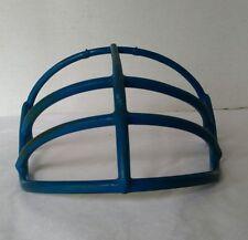 Vintage Schutt Green Dot Face Mask Blue NFL NCAA helmet shield