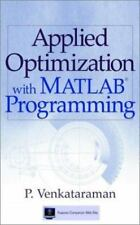 Applied Optimization with MATLAB Programming, Venkataraman, P., Good,  Book