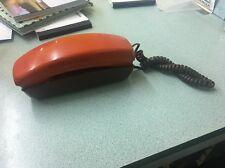 VTG Retro Mod Western Electric orange brown Telephone Push Button Trimline Phone