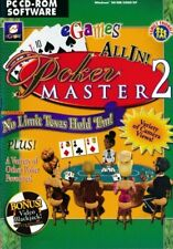 Poker Master 2 - PC CD-ROM Texas Hold Em & Video Blackjack Game (Disc in Sleeve)