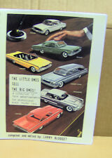 THE LITTLE ONES SELL THE BIG ONES! rare advertisements for promo model cars