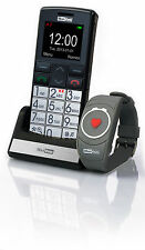 Unlocked Big Button Senior Mobile Phone Easy to Use SOS ICE2 Button -MaxCom 715