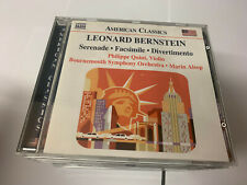 Bernstein - Serenade; Facsimile; Divertimento -  CD UNPLAYED 636943924525