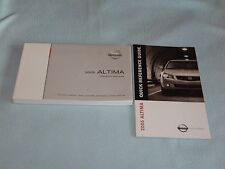 2005 Nissan Altima Owners Manual With Binder