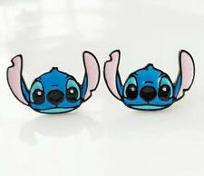 Disney lilo&stitch ear up hmetal earring ear stud earrings unisex earring