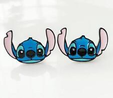 Disney lilo&stitch ear up hmetal earring ear stud earrings studs anime fashion n