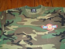 """Consol Energy (Coal Mining) """"Absolute Zero"""" (Accidents) Camo T-Shirt - Size M"""