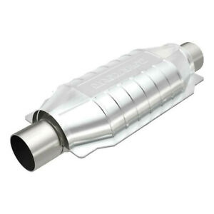 """2"""" Catalytic Converter MagnaFlow 12"""" Body CA CARB Universal SS"""
