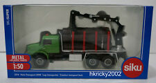 Siku Super 2714 Mercedes-Benz 2733 Log Transporter Tree Trunk Model