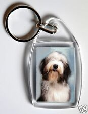 Bearded Collie Key Ring By Starprint - No 2