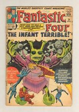 Fantastic Four #24 - The INFANT TERRIBLE! - 1964 (Grade G) WH