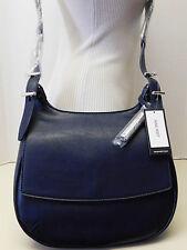 Nine West Blue Saddle Crossbody Hobo Shoulder Bag Handbag Purse NWT