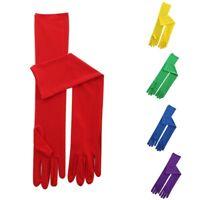 Women's Long Gloves Wedding Party Opera Performance Elegant Gloves Full Fingers