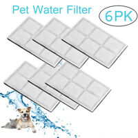 6PCS Replacement Charcoal Filters For Drinkwell Pet Water Fountain Filter AU