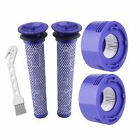Pre-Filter HEPA Post-Filters Replacements Dyson V8 V7 Cordless Vacuum Cleaners,N