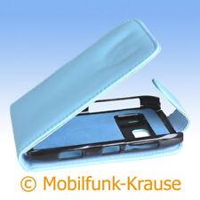 Flip Case Etui Handytasche Tasche Hülle f. Nokia N8-00 (Türkis)