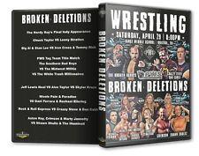 Pro Wrestling South - Broken Deletions DVD-R, Hardy Boys Chuck Taylor