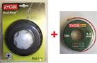 Ryobi Hilo de doble cabeza para desbrozadora RLT ,rbc-serie, RAC 115 + 15m