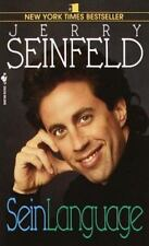 Seinlanguage, Jerry Seinfeld, 0553569155, Book, Acceptable