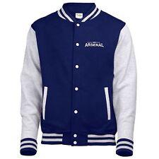 100% Arsenal Fan Varsity Jacket Mens