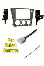 Double Din Car Kit Combo for some 2005 2006 2007 2008 2009 Subaru Outback Legacy