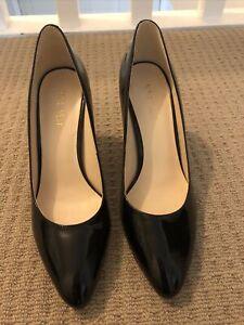 Nine West Black High Heels Size 7.5 Worn Once