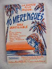 Partition 10 Menregues des Antilles Contrebasse
