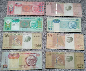 Angola 8 Notes Circulated